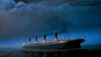 Столкновение круизного лайнера «Ориана» с военным кораблем