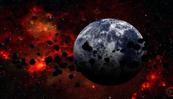 Гибель Атлантиды. Версия: столкновение Земли с астероидом или кометой